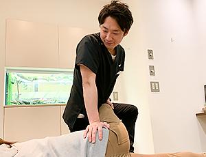 坐骨神経痛の施術写真